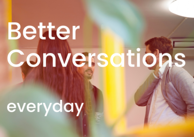 """Better Conversations"" Online Course"